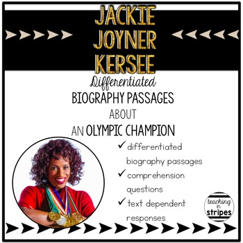 Jackie Joyner Kersee: Differentiated Biography Passages &