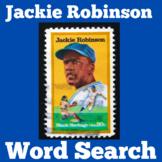 Jackie Robinson Worksheet   Jackie Robinson Word Search