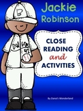 Jackie Robinson Close Reading Passage and Activities