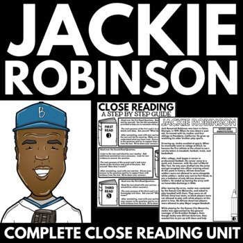 Jackie Robinson - Black History Month Unit Information and Research Project