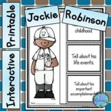Jackie Robinson Activities - Black History Month Bulletin Board
