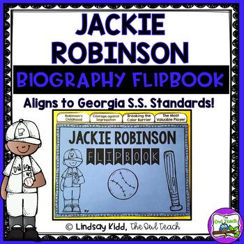 Jackie Robinson:  Interactive Flipbook