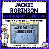 Jackie Robinson:  Interactive Biography Flipbook