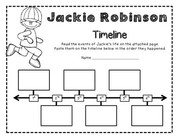 Jackie Robinson! A Biography Study