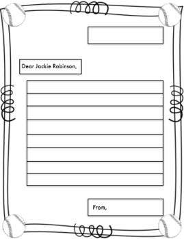 Jackie Robinson (A Black History Month Craftivity)