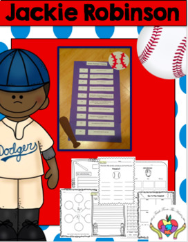 Jackie Robinson (A Black History Month Craftivity)