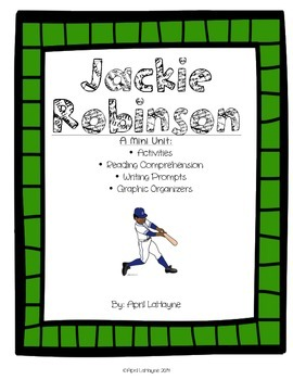 Jackie Robinson: A Mini Unit