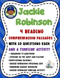 Jackie Robinson Black History Month Activities-Reading Com