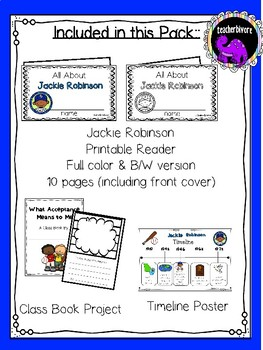 Jackie Robinson Activity Pack
