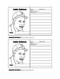 Jackie Robinson Baseball Card Template