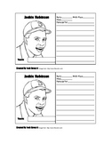 Jackie Robinson Baseball Card Template