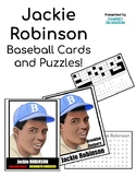 Jackie Robinson Baseball Card and Puzzles!