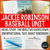 Jackie Robinson Baseball Unit:  Novel Study and Informatio
