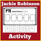 Jackie Robinson Worksheet Activity