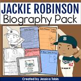 Jackie Robinson Biography Pack - Digital Biography Activity in Google Slides