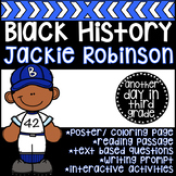 Jackie Robinson Black History Month Activities