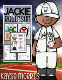 Jackie Robinson Activities, Close Reading, Crafts, and More