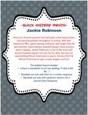Jackie Robinson Black History Month Sports/Baseball Bulletin Board