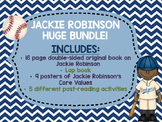 Jackie Robinson Black History Month bundle Lap Book Lapbook Baseball biography