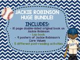 Jackie Robinson Black History Month bundle Lap Book Lapbook Baseball biography