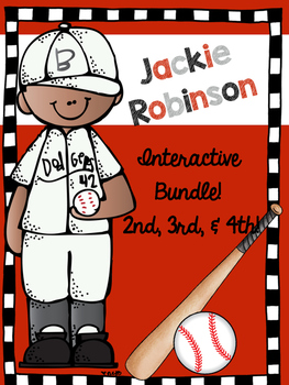 Jackie Robinson comprehension : Black history month