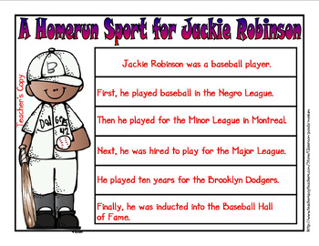 Jackie Robinson Bundle (Task Cards Included)