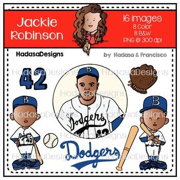 Jackie Robinson Clip Art Mini Combo Pack