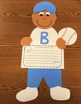 Jackie Robinson Craftivity (Black History Month)