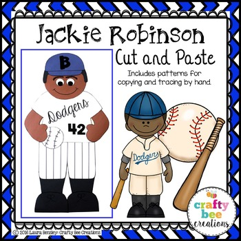 Jackie Robinson Cut and Paste