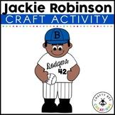Black History Month Craft   Jackie Robinson Craft   Jackie Robinson Activities