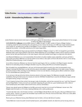 Jackie Robinson Day - April 15
