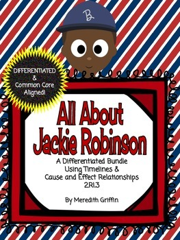 Jackie Robinson Differentiated Cause Effect Timelines Georgia Black History