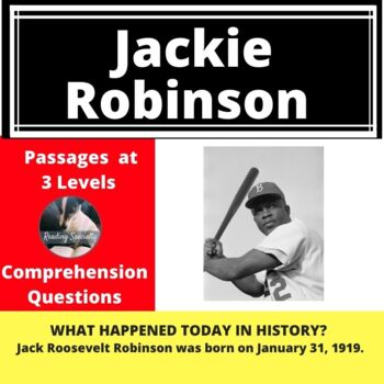 Jackie Robinson Differentiated Reading Passage January 31