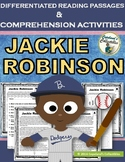 Jackie Robinson Differentiated Reading Passages & Comprehension Activities