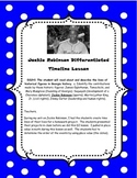 Jackie Robinson Differentiated Timeline Activity