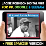 Jackie Robinson Digital Activities for Google and Seesaw -