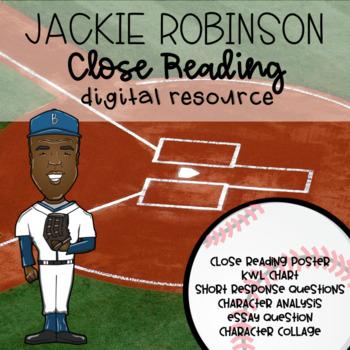 Jackie Robinson Digital Close Read