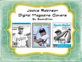 Digital Magazine Covers: Jackie Robinson