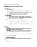 Jackie Robinson ESL Unit Plan