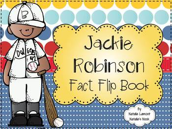 Jackie Robinson Fact Flip Book