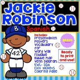 Jackie Robinson Facts and Activities in Spanish