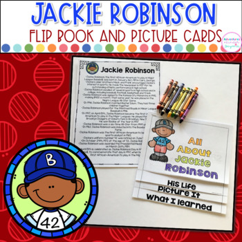 Jackie Robinson- Flip Book and Vocab Cards