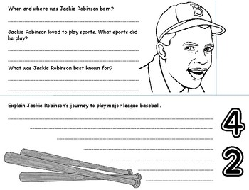 Jackie Robinson Flipbook