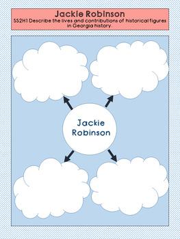 Jackie Robinson Graphic Organizer Set