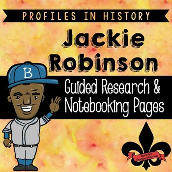 Jackie Robinson Guided Research Activity