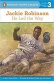Jackie Robinson  He Led the Way 2nd Grade - ESL Workstations Book Study