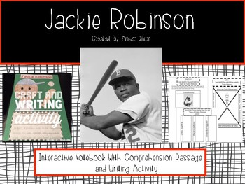 Jackie Robinson Interactive Notebook and Writing