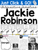 Jackie Robinson Interactive Timeline