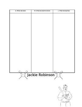 Jackie Robinson KWL Chart