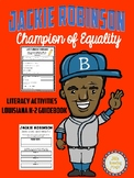 Jackie Robinson Literacy Activities for Louisiana K-2 Guidebook